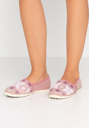 PANTOUFLE CLASSIC NEIGE - Slippers - rose