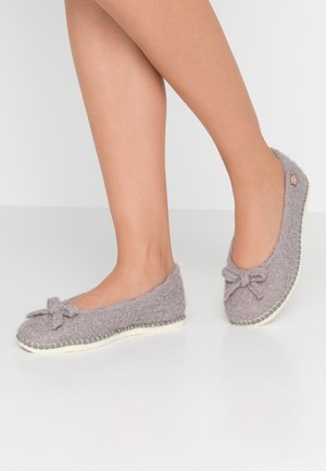 PANTOUFLE CURLY - Slippers - gris