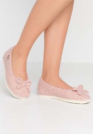 PANTOUFLE CURLY - Slippers - rosé