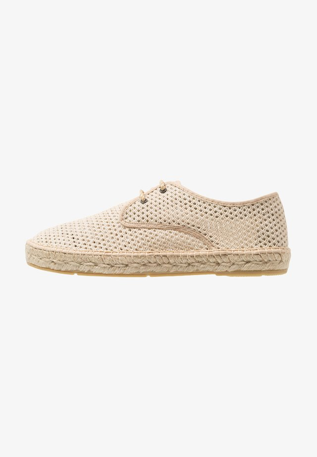 PAYSAN MEN - Espadrillos - nature