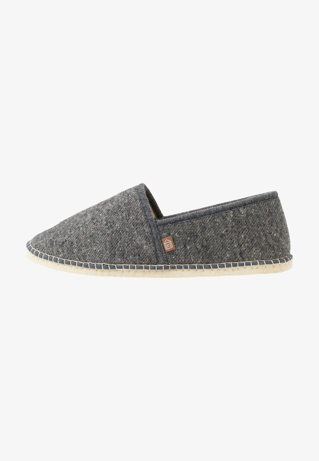 PANTOUFLE CLASSIC MÉLANGE MEN - Slippers - gris