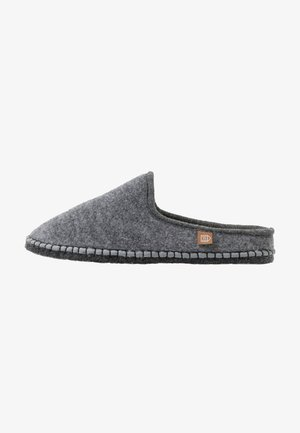 PANTOUFLE MEN - Slippers - gris