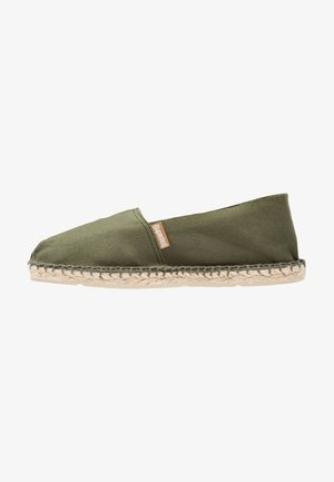 CLASSIC - Espadrilky - olive