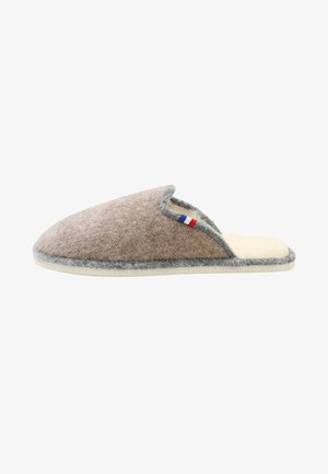 CHALET CHAUSSON - Slippers - sable/gris