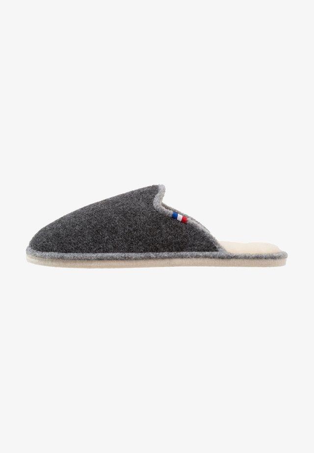 CHALET CHAUSSON - Slippers - asphalt/gris