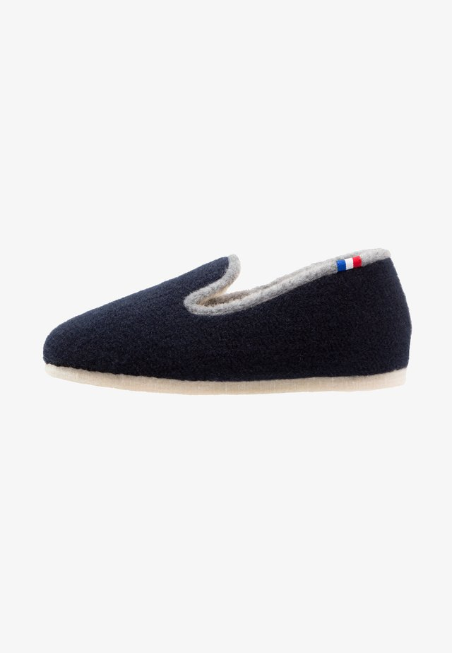 CHALET TRADITIONAL - Slippers - marine/gris