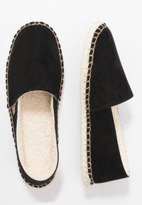 Espadrij l´originale - PANTOUFLE CLASSIC VEGAN - Slippers - noir - 1