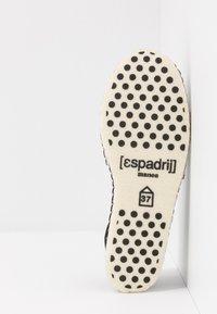 Espadrij l´originale - PANTOUFLE CLASSIC VEGAN - Slippers - noir - 4