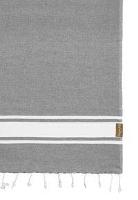 Espadrij l´originale - BEACHPLAID - Serviette de plage - gris - 1