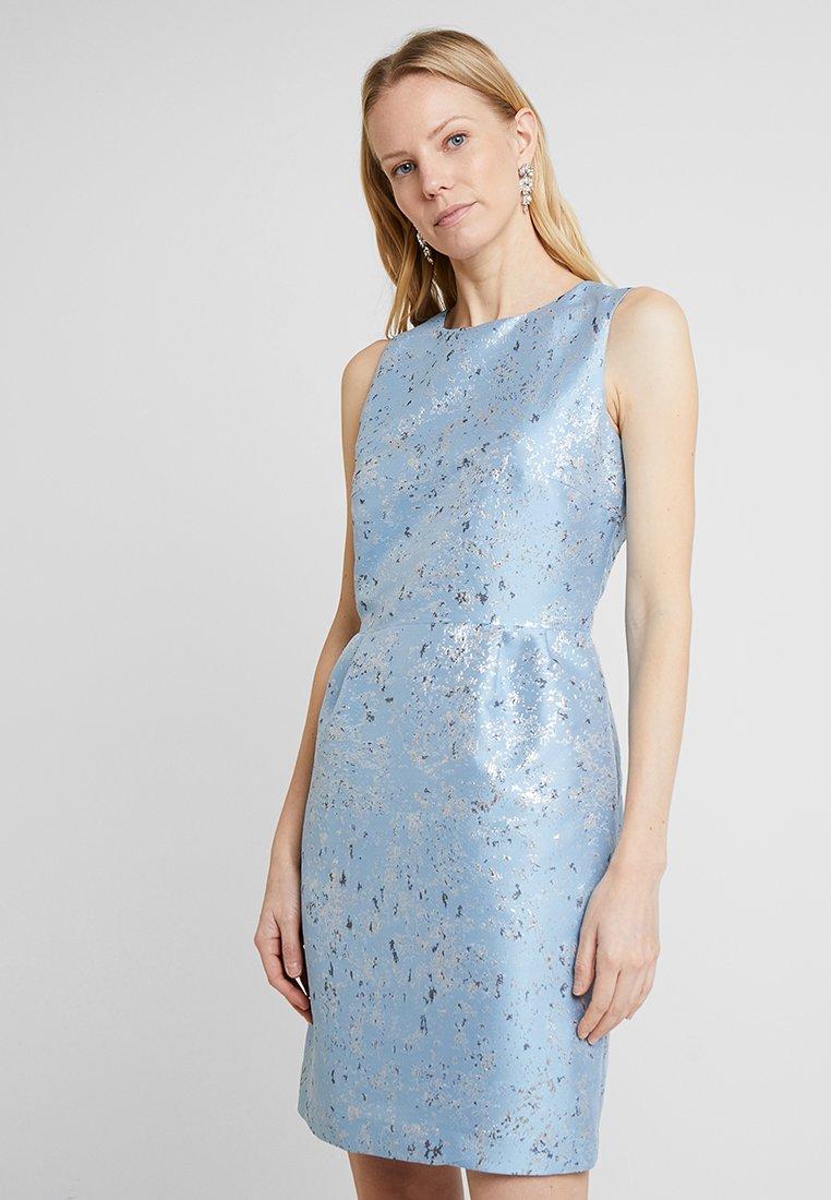 Esprit Collection - ARTISTIC FLECK - Cocktail dress / Party dress - pastel blue