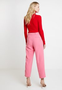 Esprit Collection - CROPPED STRAIGHT - Bukse - pink - 2