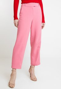 Esprit Collection - CROPPED STRAIGHT - Bukse - pink - 0
