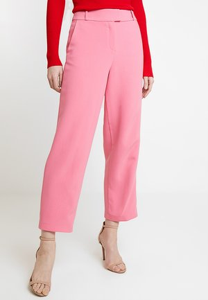 CROPPED STRAIGHT - Kalhoty - pink