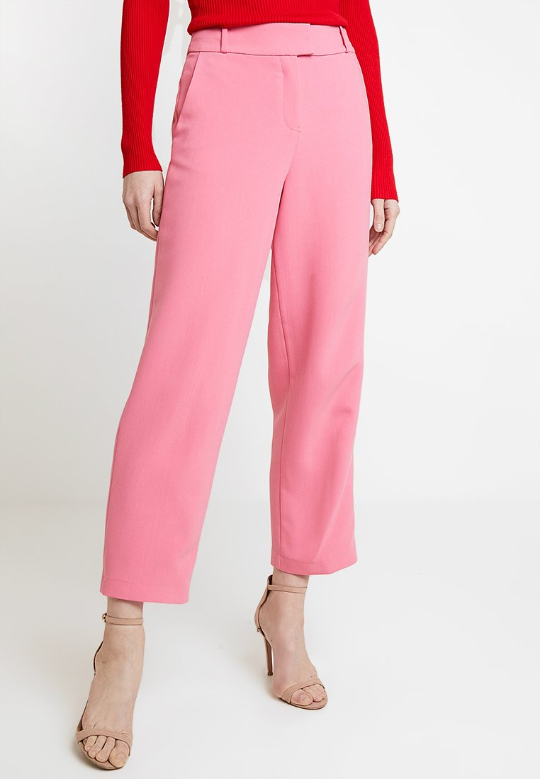 Esprit Collection - CROPPED STRAIGHT - Bukse - pink