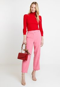 Esprit Collection - CROPPED STRAIGHT - Bukse - pink - 1
