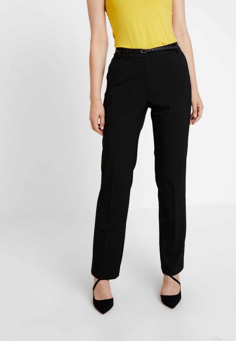 Esprit Collection - NEWPORT - Stoffhose - black