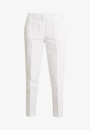 DOVER CROPPED - Trousers - white