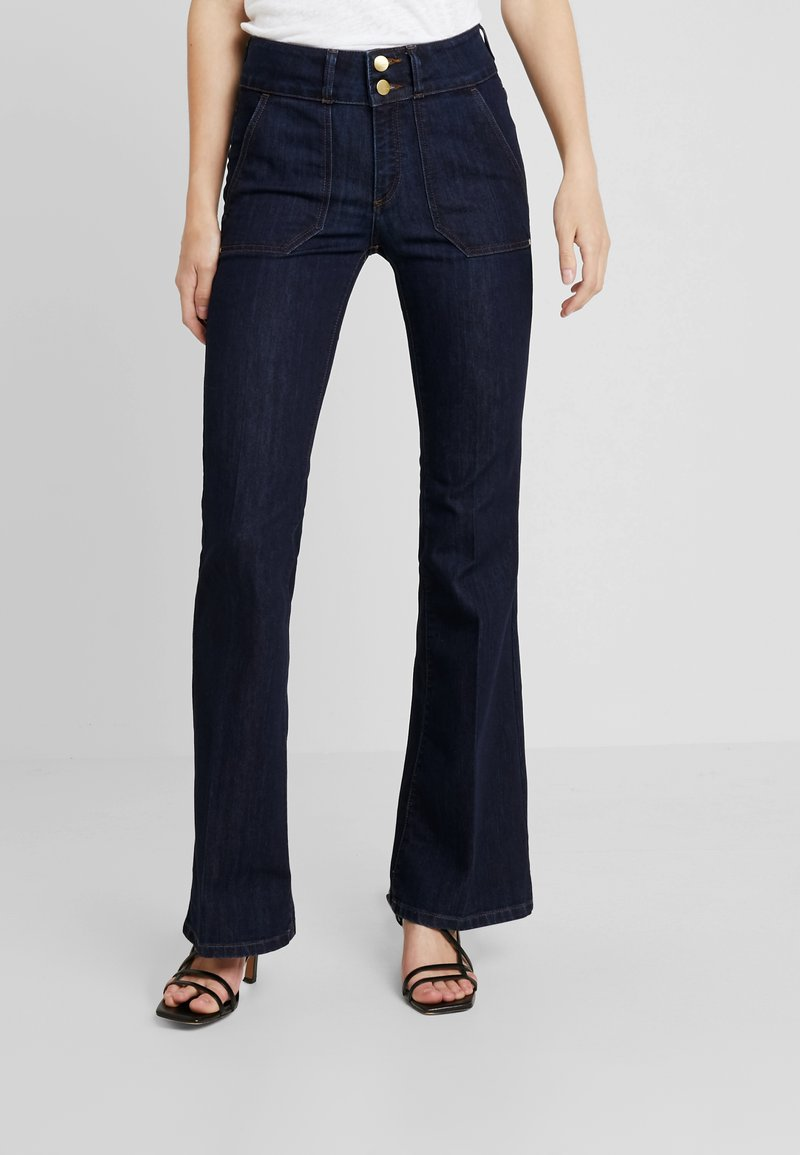 Esprit Collection - Flared Jeans - blue rinse