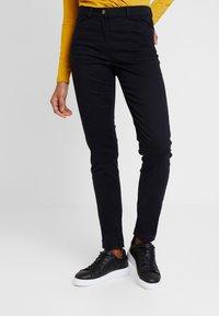 Esprit Collection - Spodnie materiałowe - black - 0