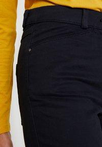 Esprit Collection - Spodnie materiałowe - black - 3