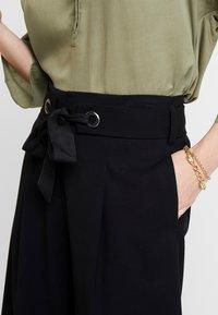 Esprit Collection - CULOTTE - Kalhoty - black - 4