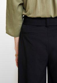 Esprit Collection - CULOTTE - Kalhoty - black - 6