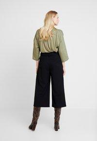 Esprit Collection - CULOTTE - Kalhoty - black - 3