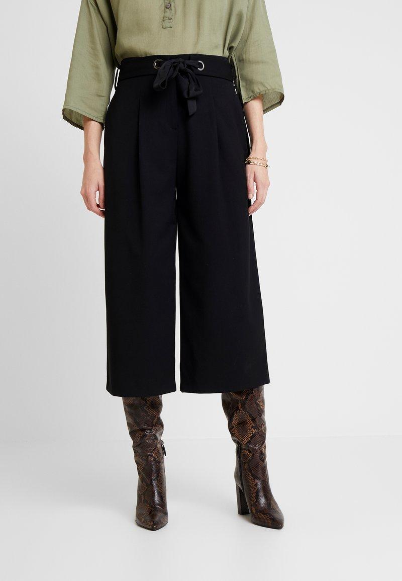 Esprit Collection - CULOTTE - Kalhoty - black