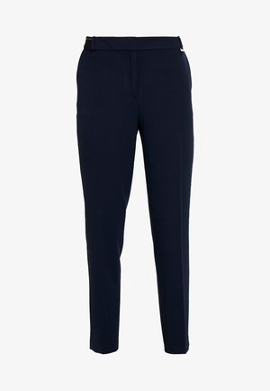FORMAL JOGGER - Trousers - navy