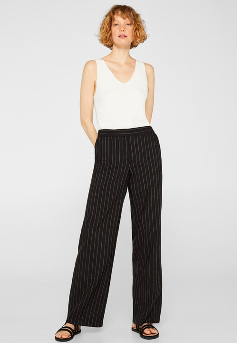 Esprit Collection - Trousers - black