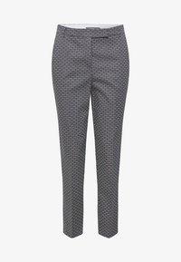 Esprit Collection - MIT STEIGBÜGEL-PRINT - Pantalon classique - navy - 7