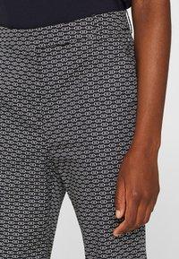 Esprit Collection - MIT STEIGBÜGEL-PRINT - Pantalon classique - navy - 4
