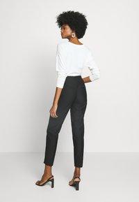 Esprit Collection - SLIM FIT - Bukse - black - 2