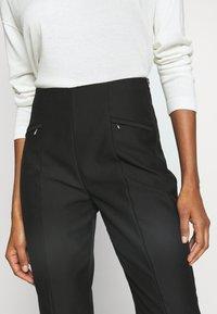 Esprit Collection - SLIM FIT - Bukse - black - 6