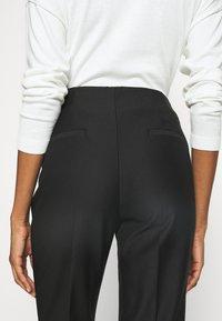 Esprit Collection - SLIM FIT - Bukse - black - 4