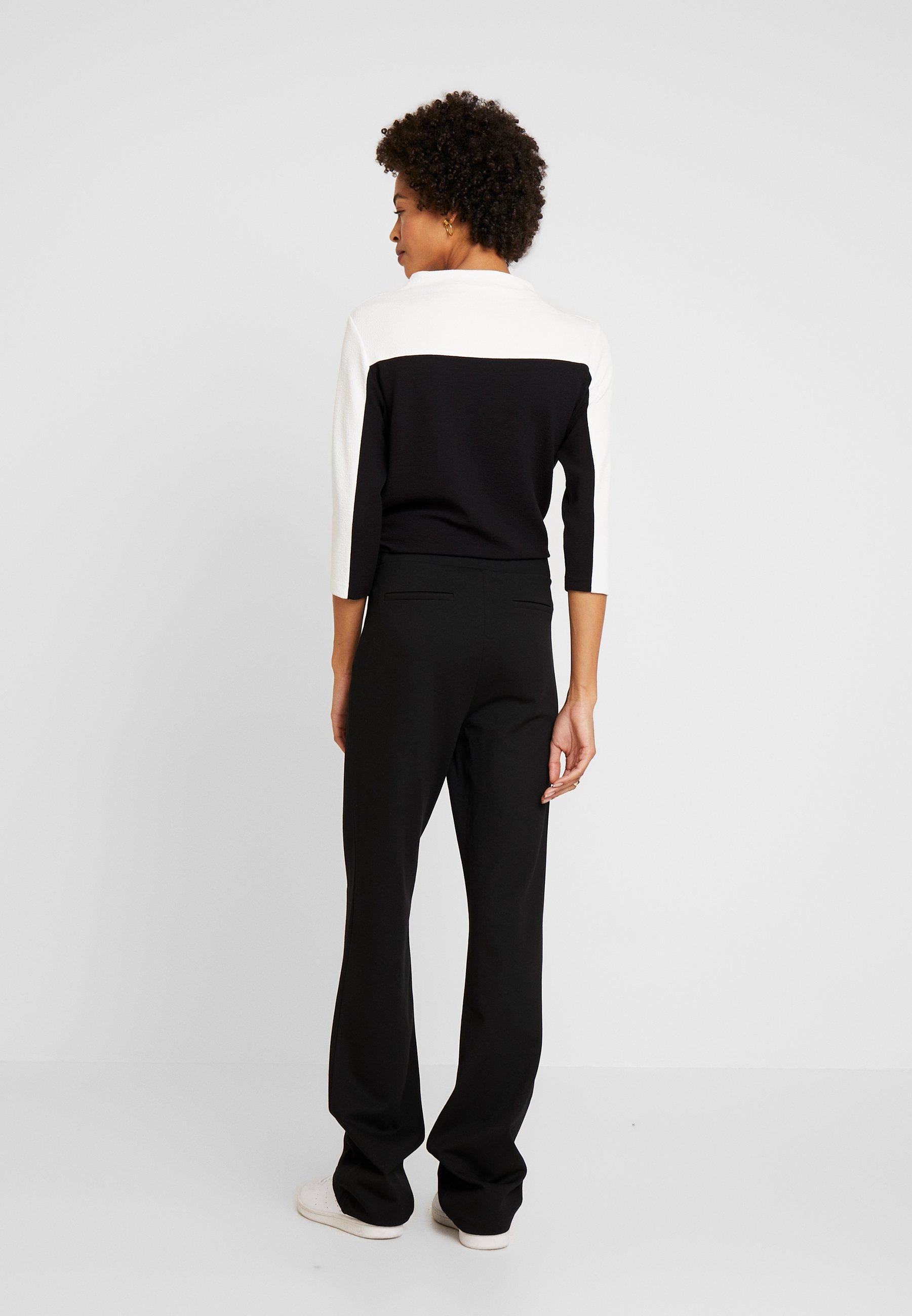 Esprit Collection PANT - Spodnie materiałowe - black