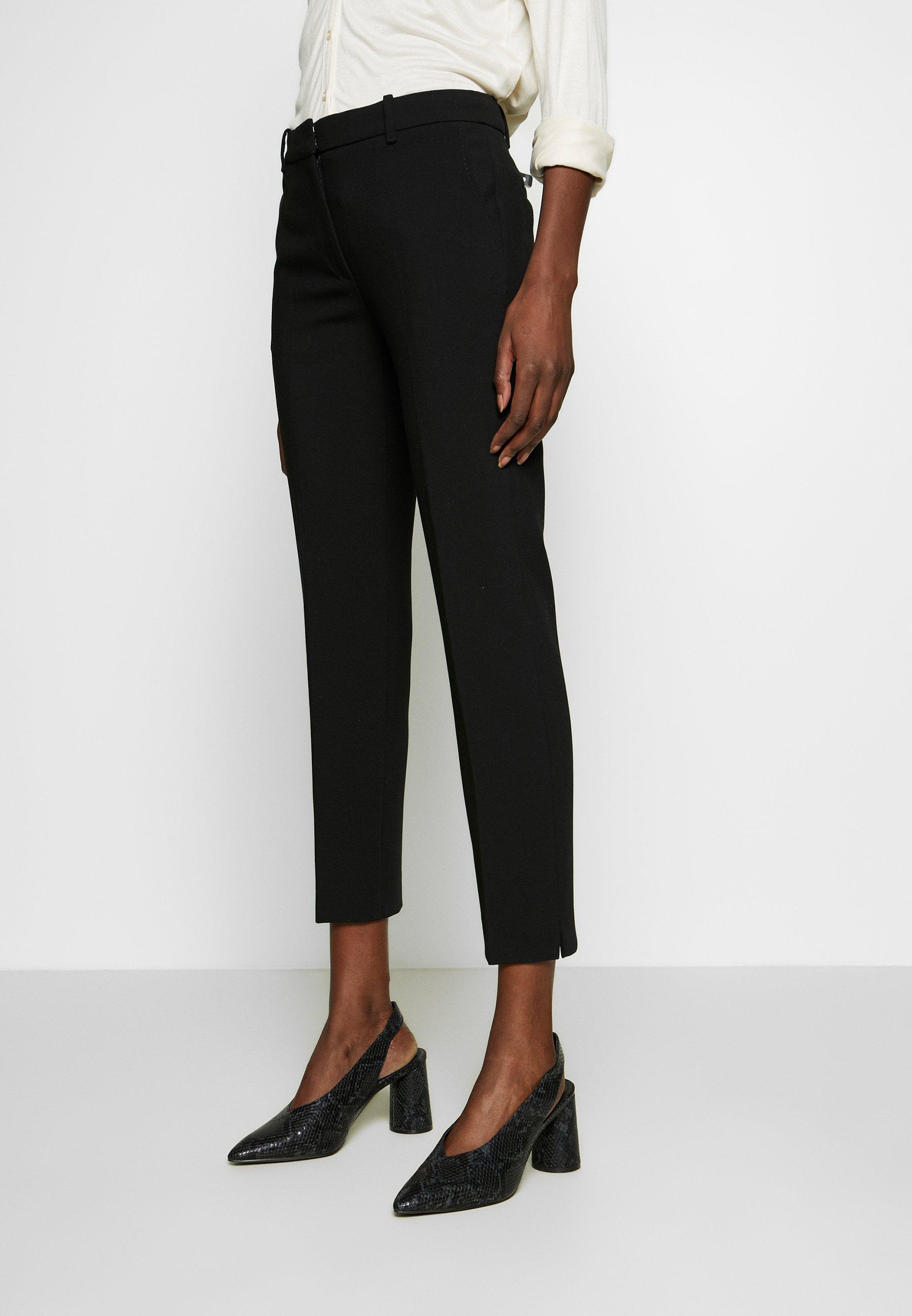 Esprit Collection PERFEKT - Spodnie materiałowe - black