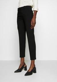Esprit Collection - PERFEKT - Trousers - black - 0
