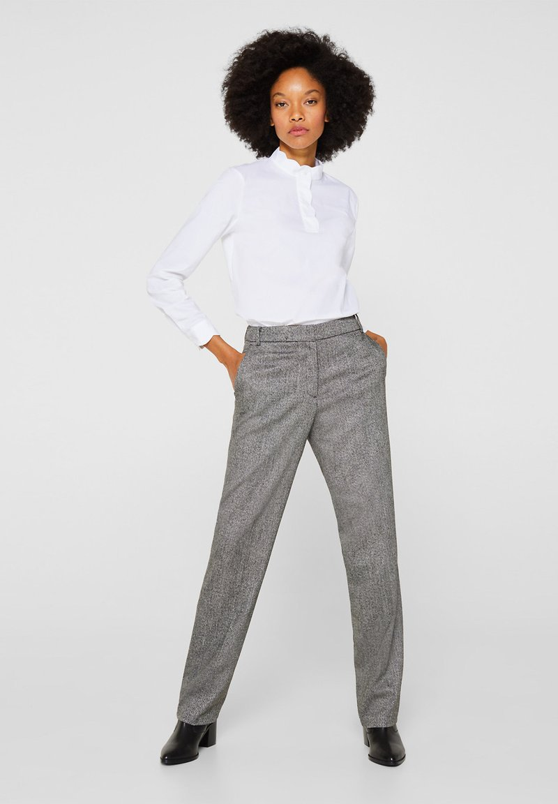 Esprit Collection - Trousers - gray