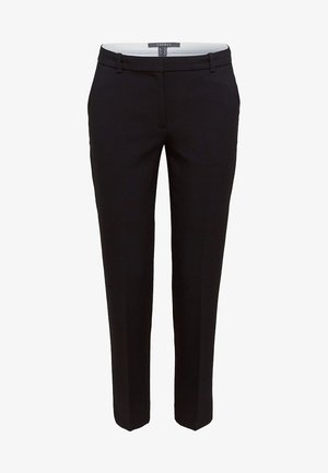 MIT TONIGEN STITCHINGS - Trousers - black