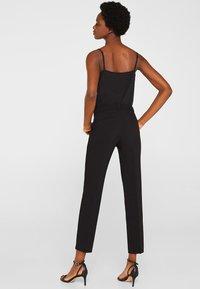 Esprit Collection - MIT TONIGEN STITCHINGS - Broek - black - 2