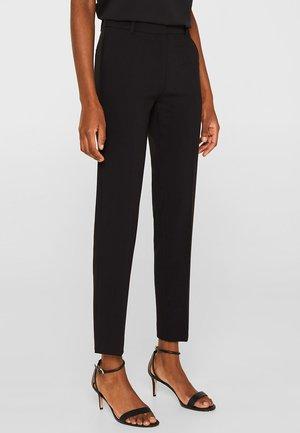 MIT TONIGEN STITCHINGS - Pantalon classique - black