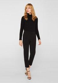 Esprit Collection - Pantalon classique - black - 1