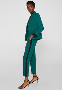 Esprit Collection - Trousers - bottle green - 1
