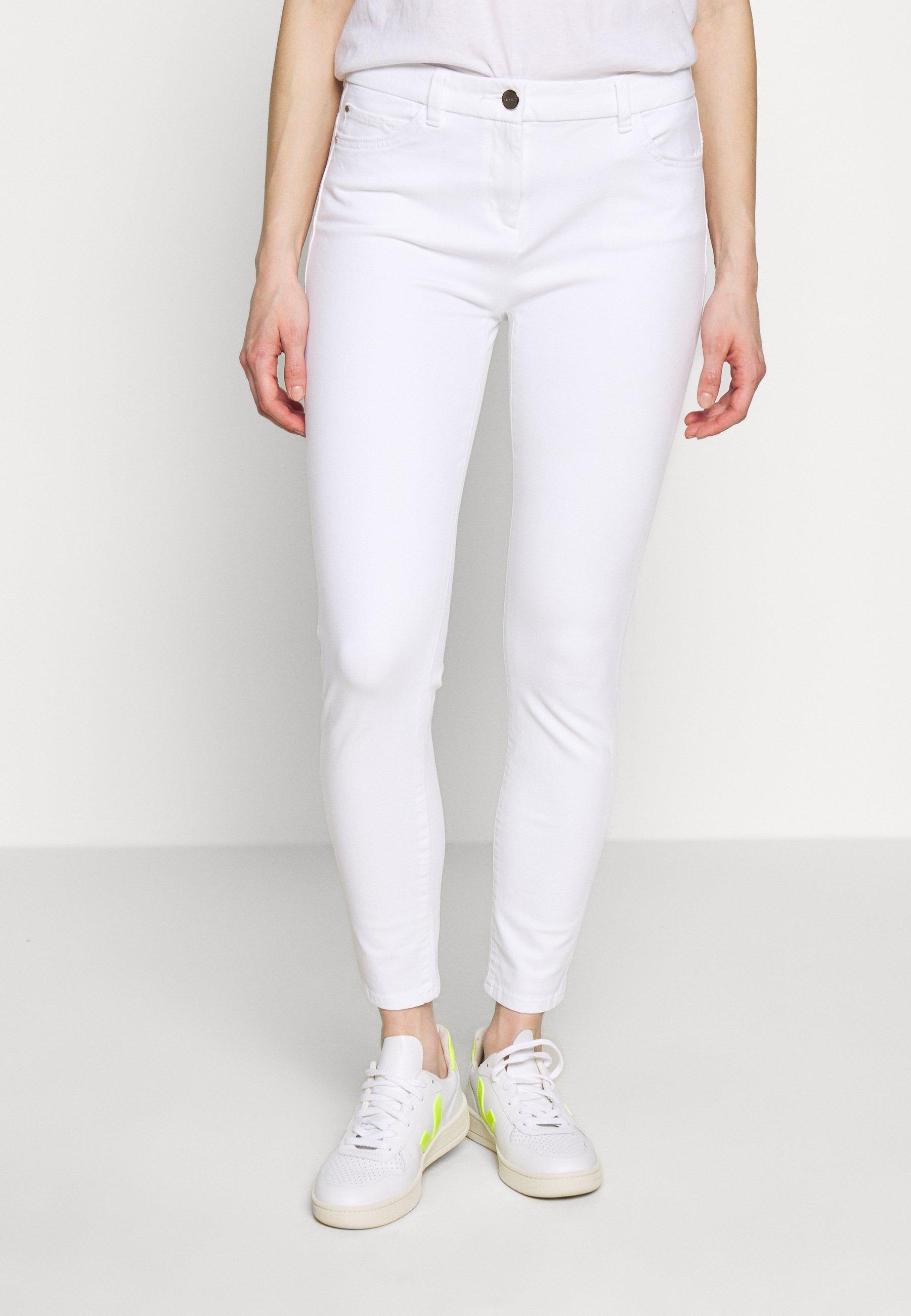 Esprit Collection MLA-020EO1B314      OCS BI-STRETCH - Spodnie materiałowe - white