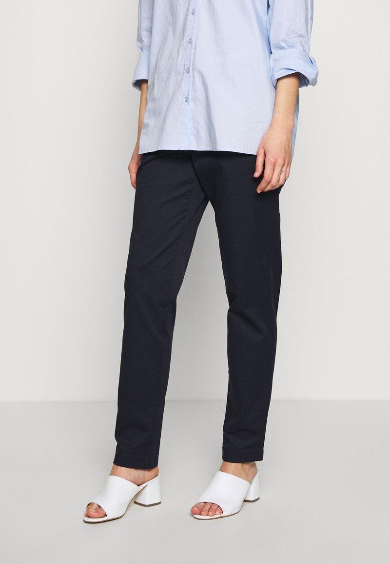 Esprit Collection - MLA-030EO1B308   - Spodnie materiałowe - navy