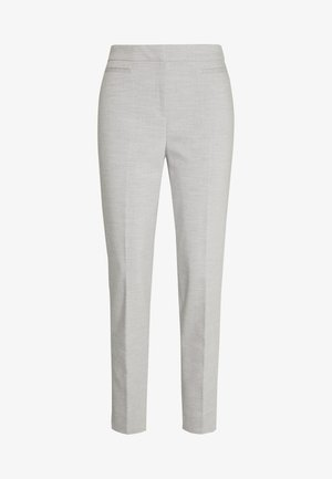 SLIM SUITING - Trousers - light grey