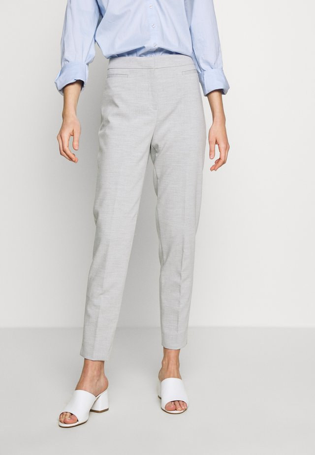 SLIM SUITING - Pantalones - light grey