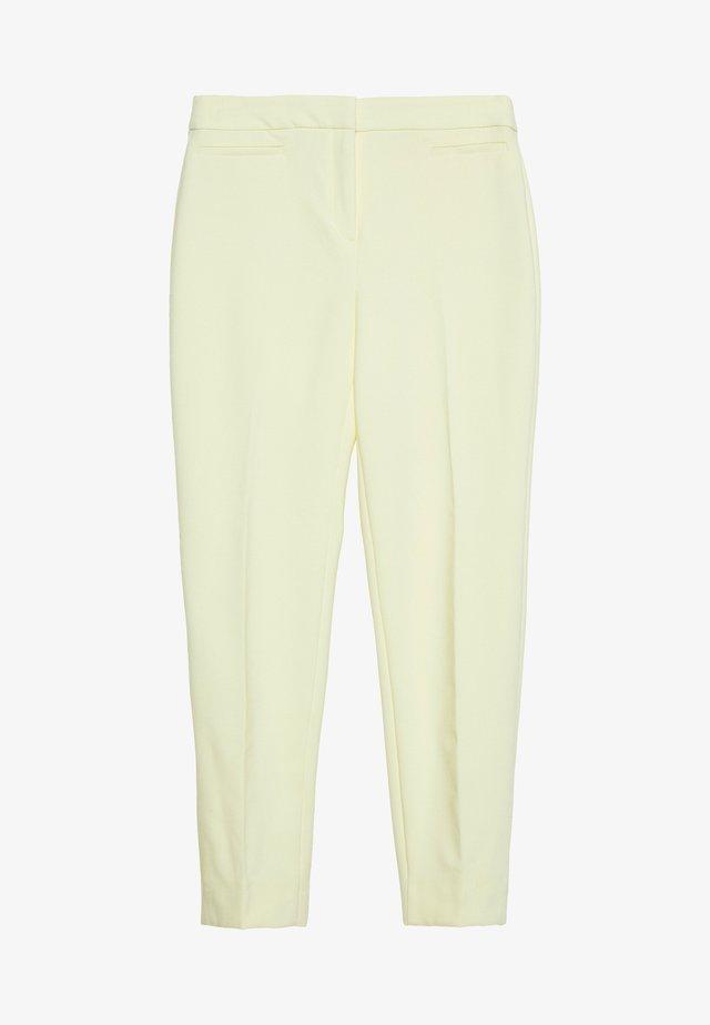 SLIM SUITING - Pantalones - lime yellow