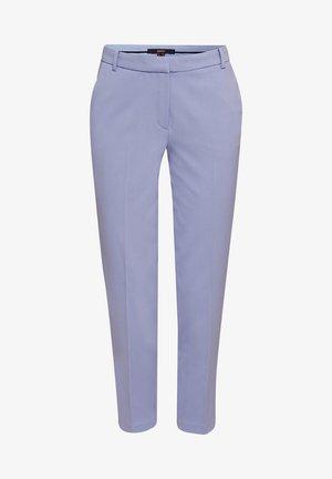 Trousers - blue lavender